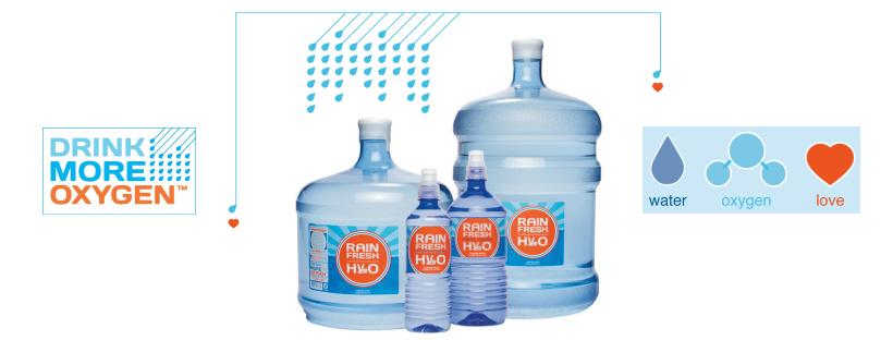 Rain Fresh Bottled Water